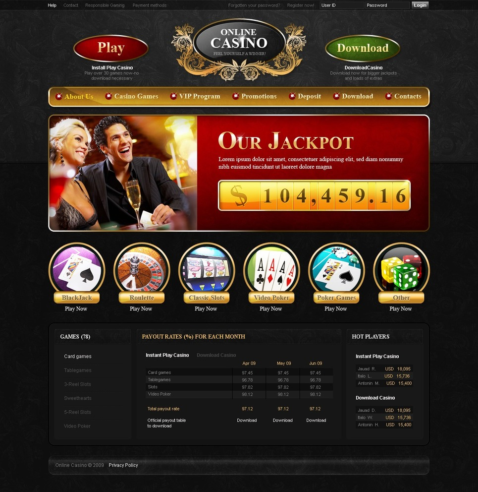 online casino websites  download