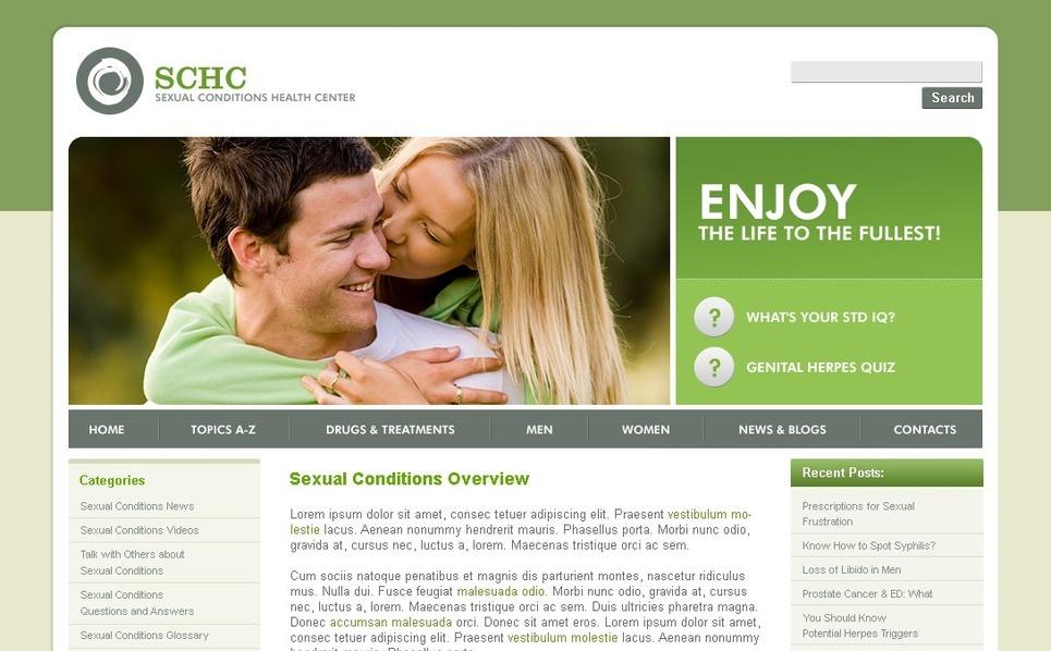 Reproduction Clinic WordPress Theme New Screenshots BIG