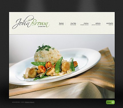 Website Template #27136