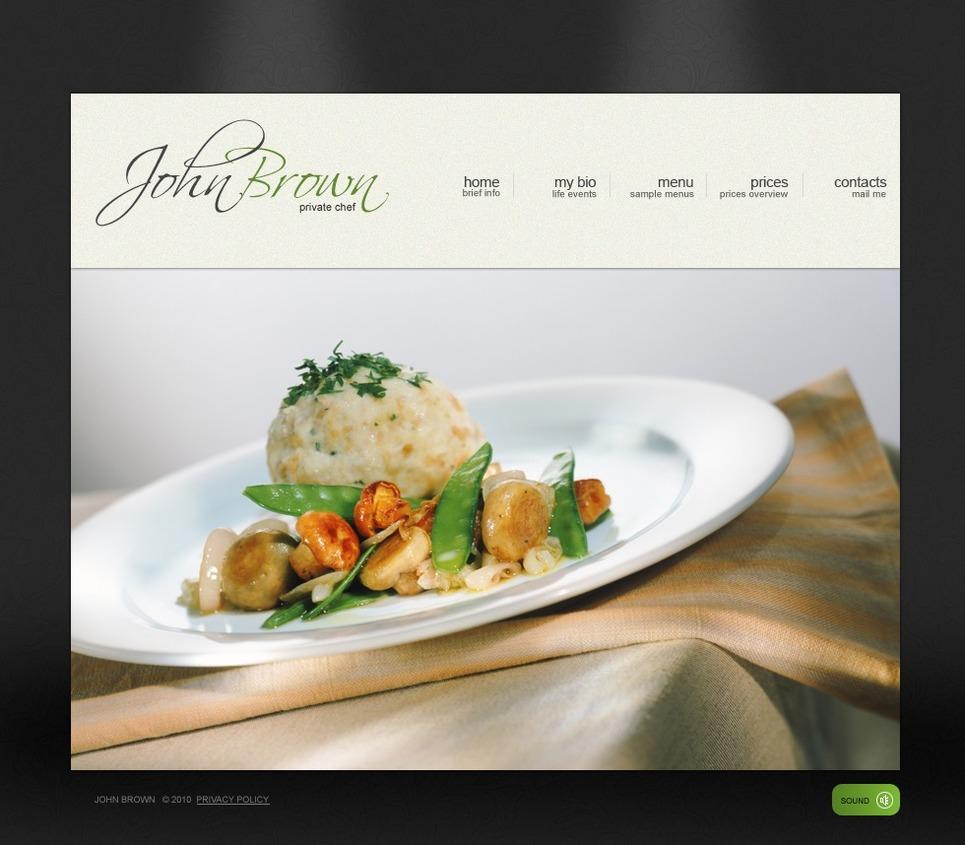 Chef SWiSH Template New Screenshots BIG
