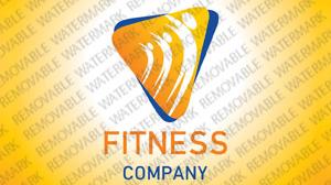 Fitness Logo Template vlogo