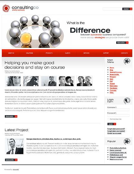 Website Template #27206