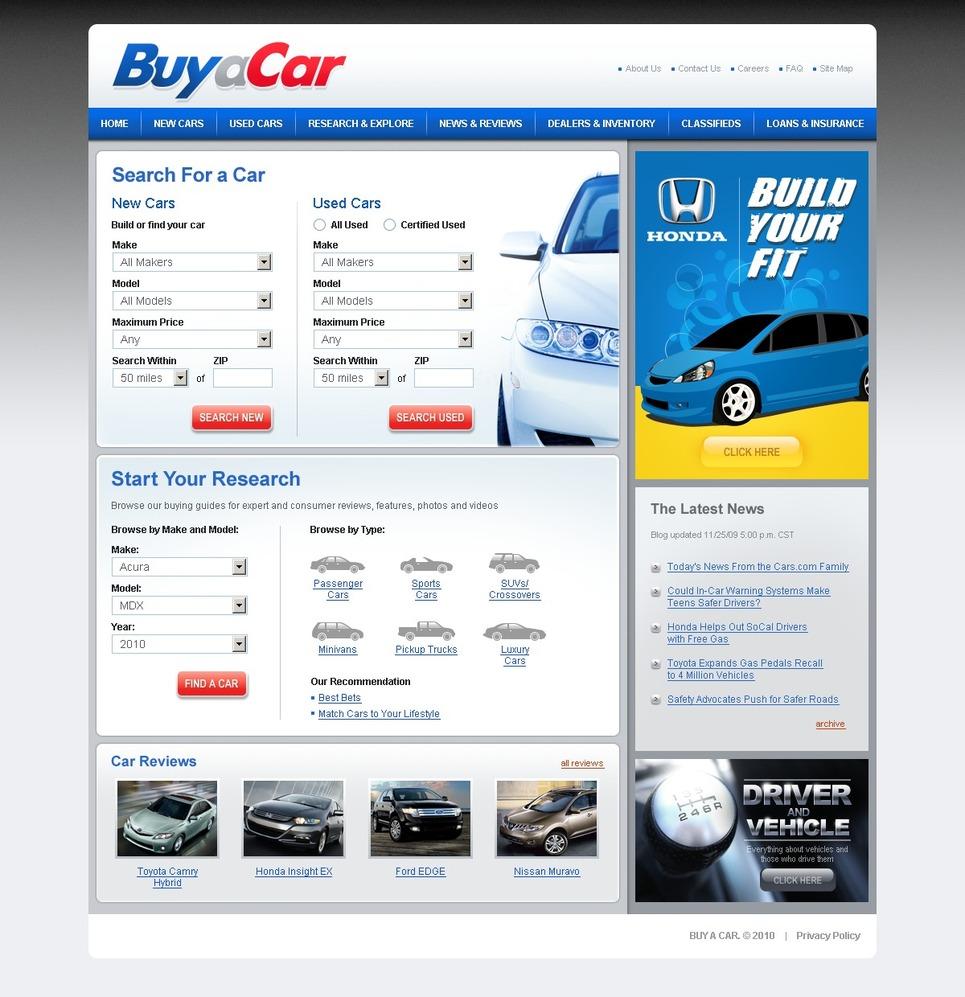 car dealer website template 27293. Black Bedroom Furniture Sets. Home Design Ideas
