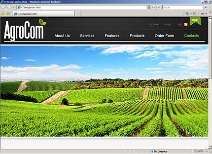 Website Template #27301