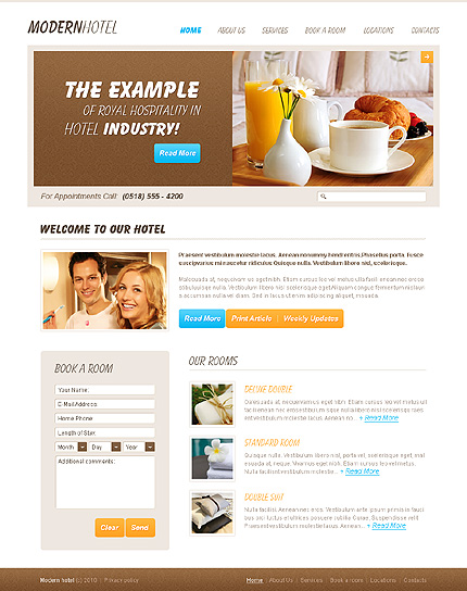 Website Template #27314