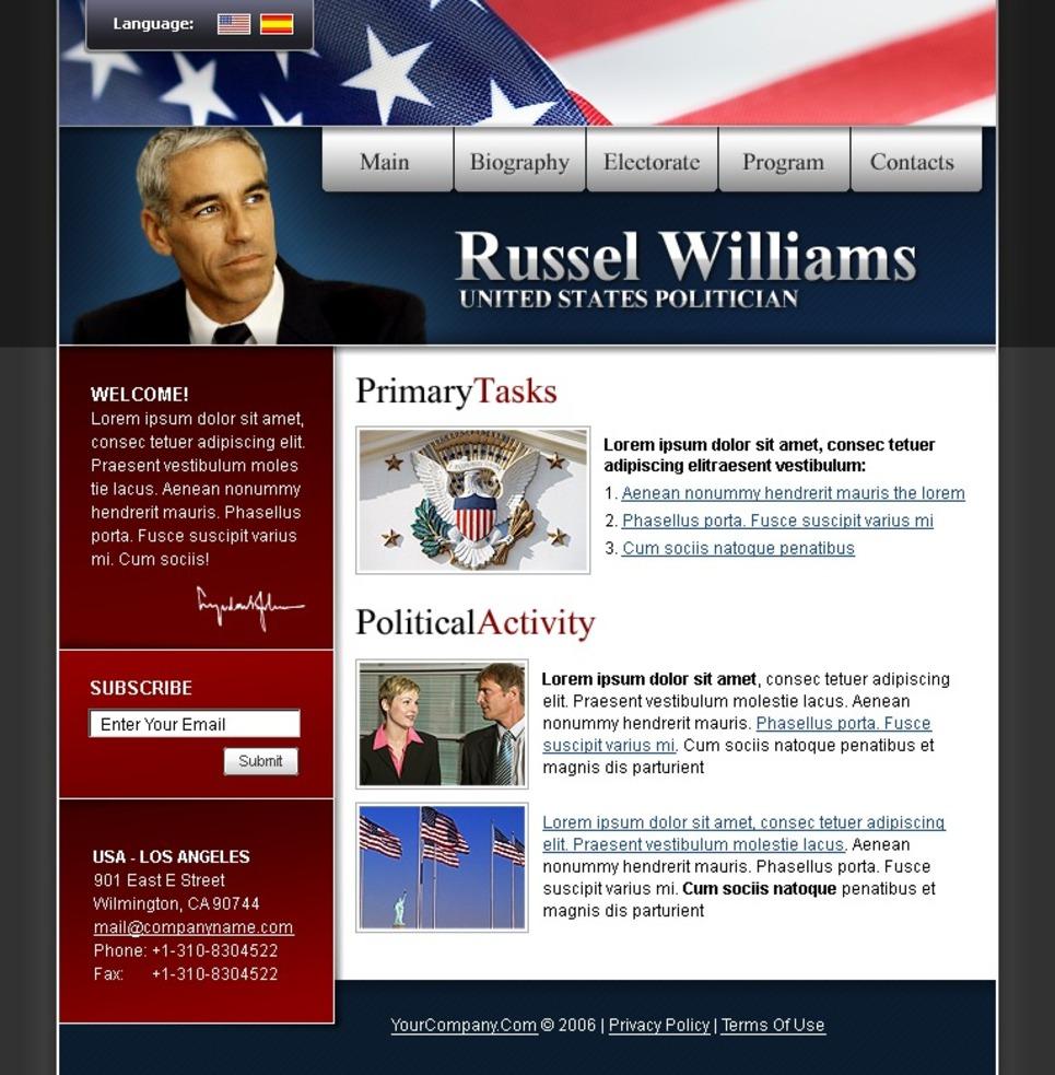 Lawyer Turnkey Website 1.0 New Screenshots BIG