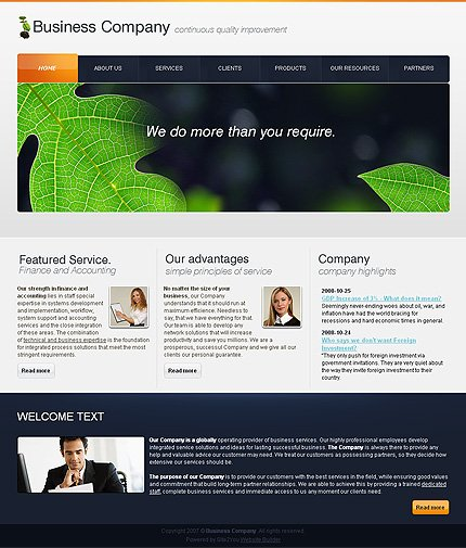 Website Template #27371