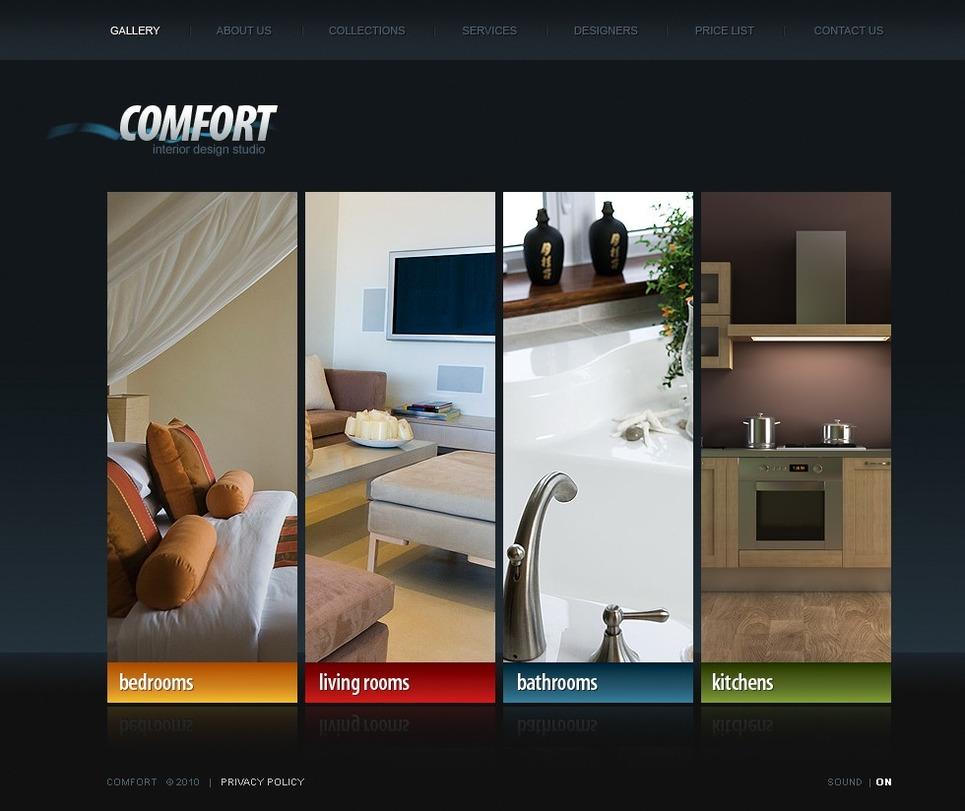 Дизайн интерьера дизайн сайта
