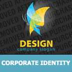 Corporate identity template #27574 by Logann