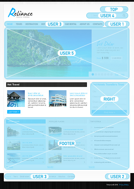 Website Template #27587