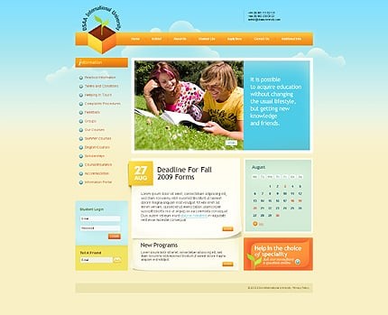 Website Template #27648
