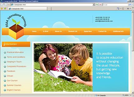 Website Template #27648