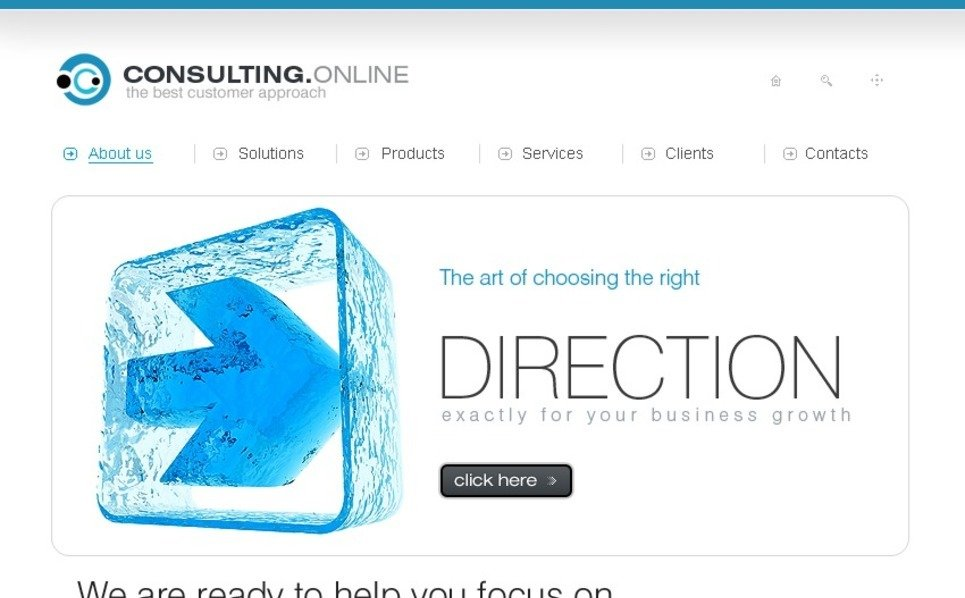 Consulting Turnkey Website 1.0 New Screenshots BIG