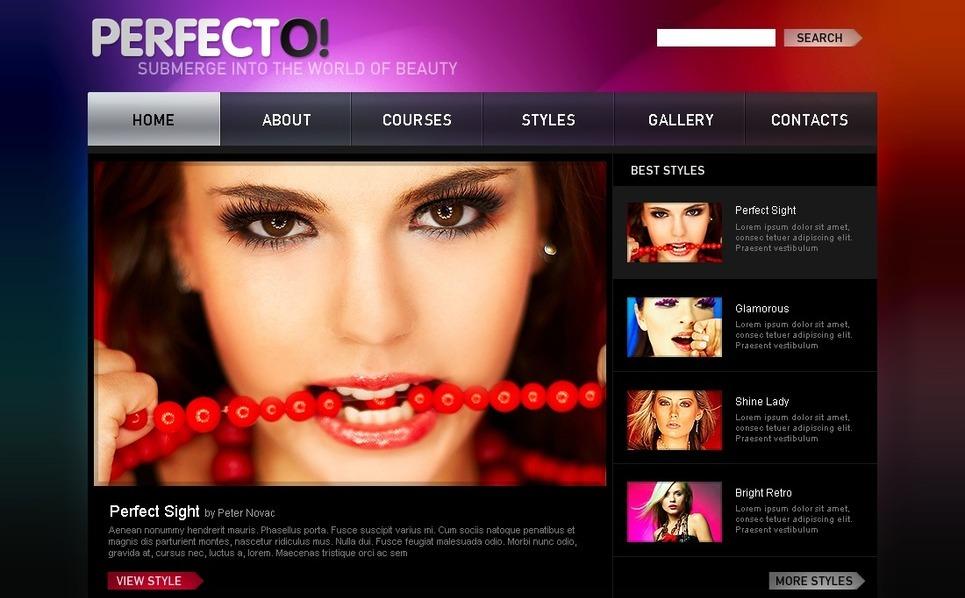 Beauty Salon Joomla Template New Screenshots BIG