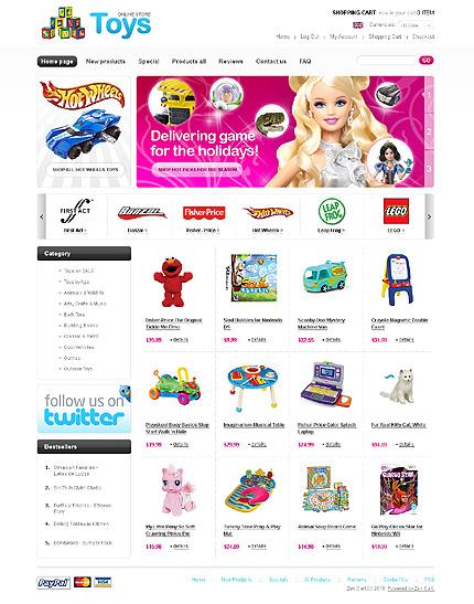 Заказ создания сайта или интернет магазина на тему Интернет магазины, Подарки, jQueryшаблоны, на основании шаблона №27749.