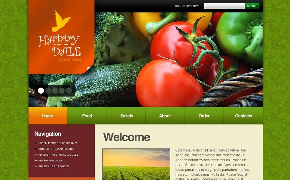 Farm Drupal Template New Screenshots BIG