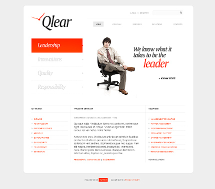 Website Template #27815