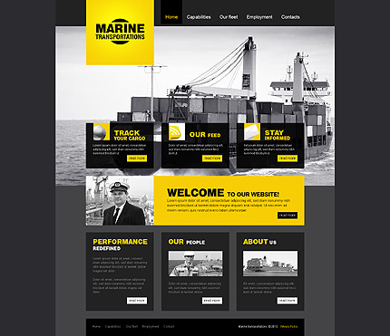 Website Template #27844