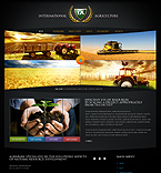 Template #28136  Keywords: international agriculture company business grain-crops cereals field combine harvest farming plants services products solutions market delivery resource grassland equipment nitrates fertilizer clients partners innovations support information dealer stocks