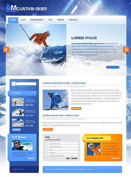 Website Template #28243