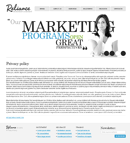 Website Template #28419