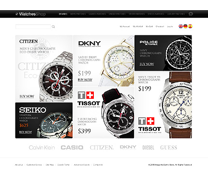 Citizen -  Ultimate Watches Store Magento Theme