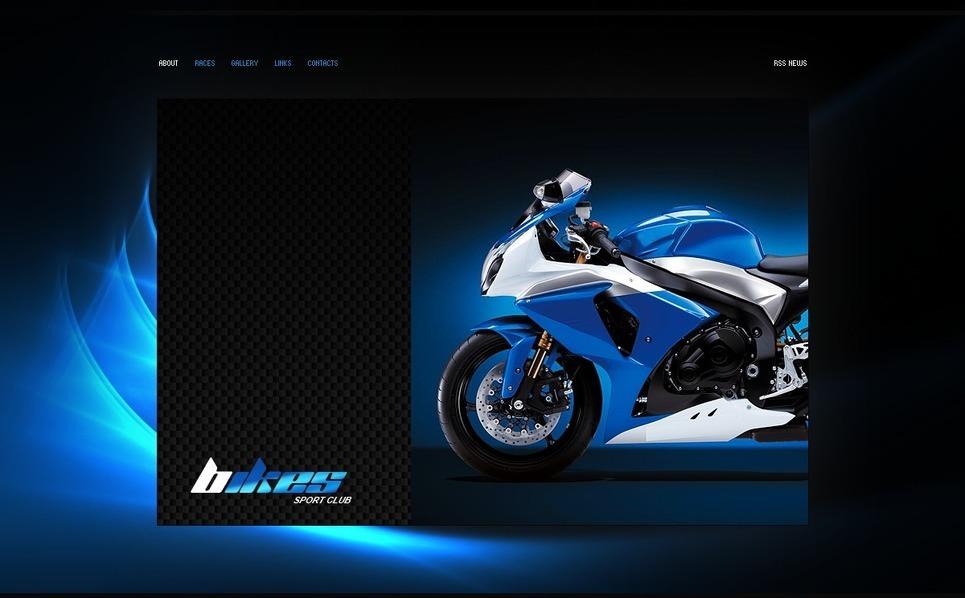 Motor Sports Flash Template New Screenshots BIG
