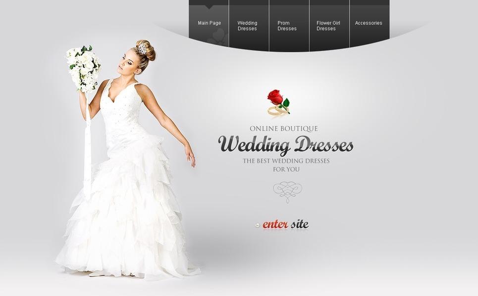 Wedding Dresses Flash Template New Screenshots BIG