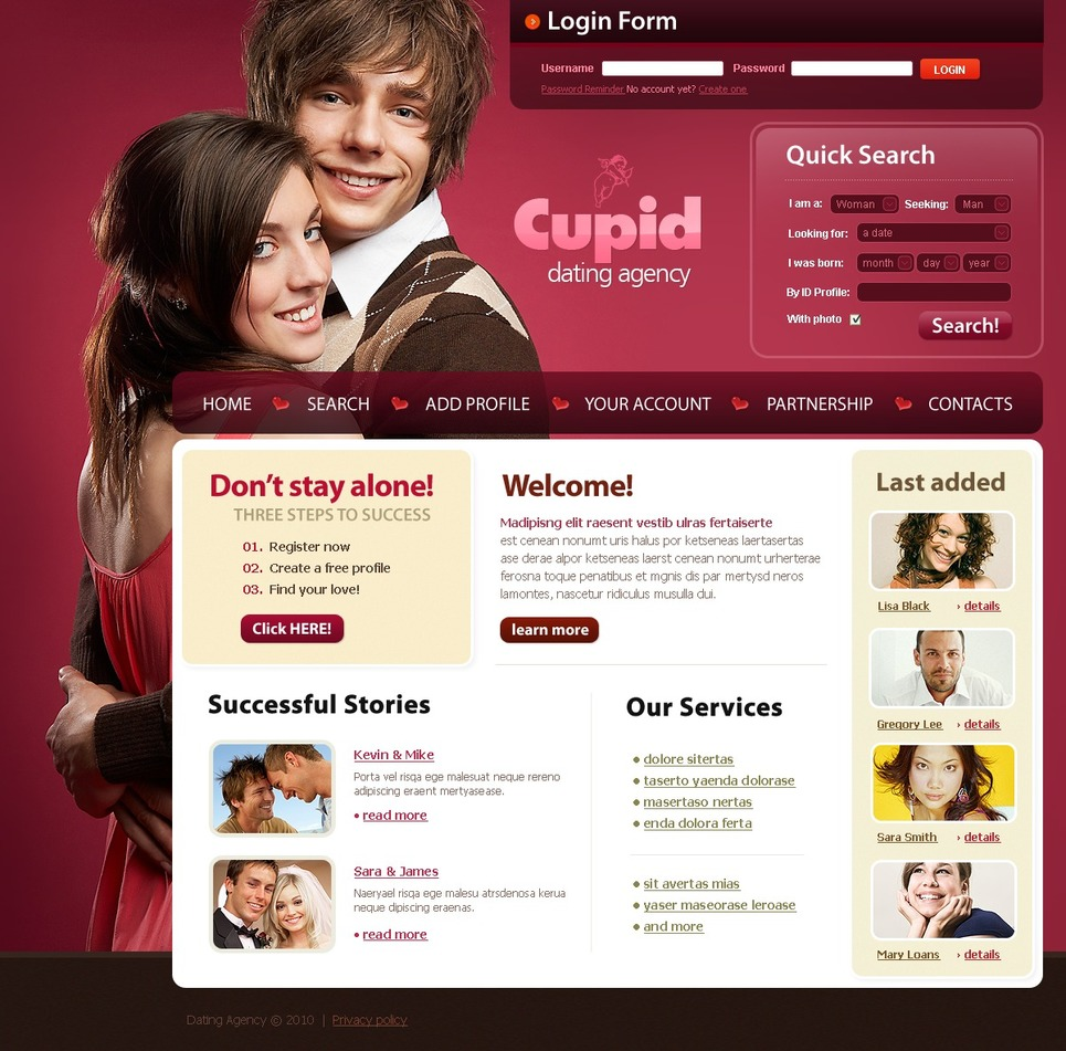 singles dating questionnaire
