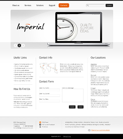 Website Template #28580
