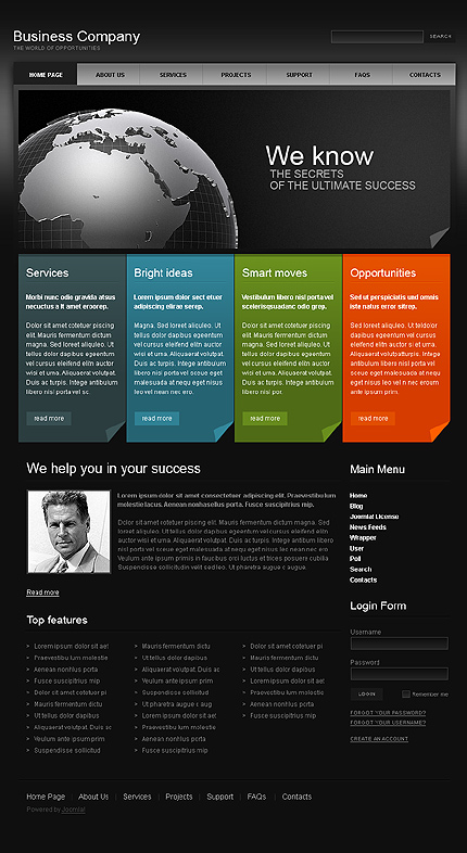 Website Template #28657