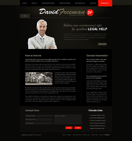 Website Template #28859