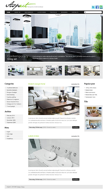 Website Template #28861