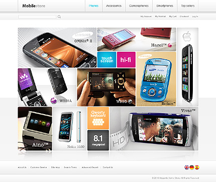 Electronic store - Effective Electronic Store Magento Theme