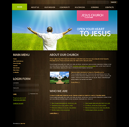 Website Template #28945