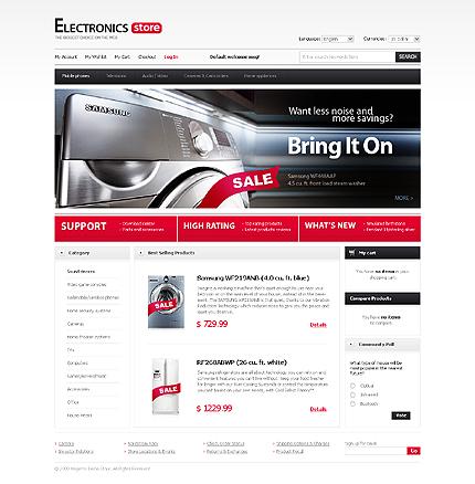 Electronic store - Modish Electronic Store Magento Theme