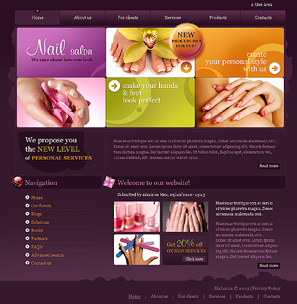 Website Template #28963
