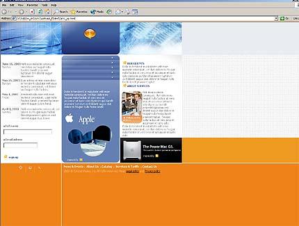 Website Template #2985