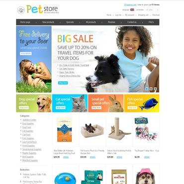 Pet Shop ZenCart Template