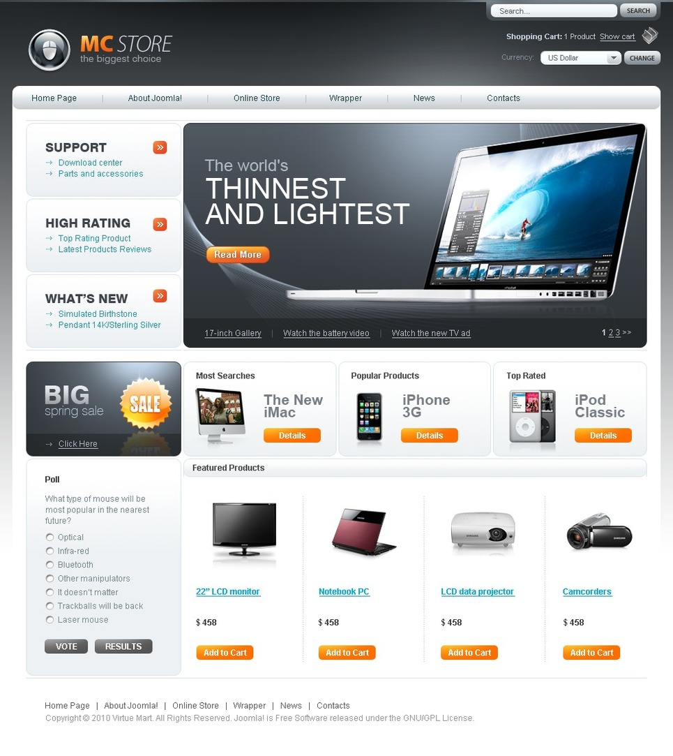 how to install virtuemart theme in joomla maximaster. Black Bedroom Furniture Sets. Home Design Ideas