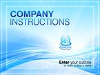 Template #29234  Keywords: genesis business powerpoint presentation solutions innovations contacts service support information report