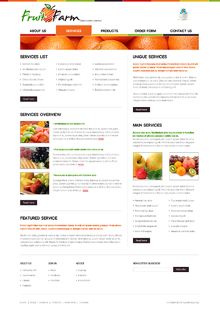 Website Template #29269
