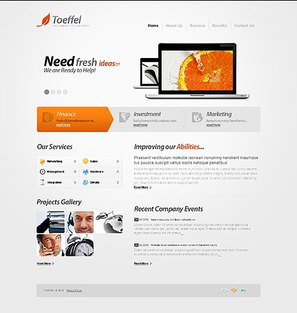 Website Template #29456