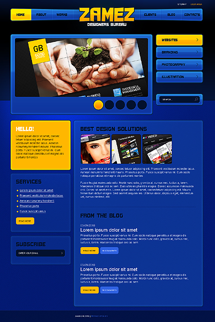 Website Template #29494