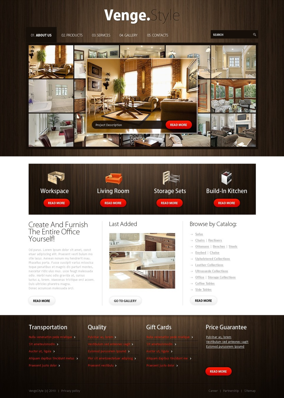 Furniture Website Template Web Design Templates Website Templates Download Furniture Website