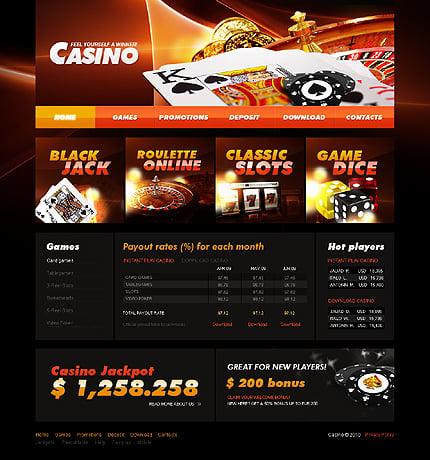 Шаблон казино сайта во владимере накрыли подпольное казино