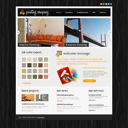 Website Template #29694