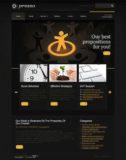 Website Template #29701