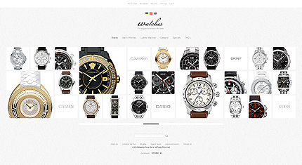 Watches - Lovely Watches Magento Theme