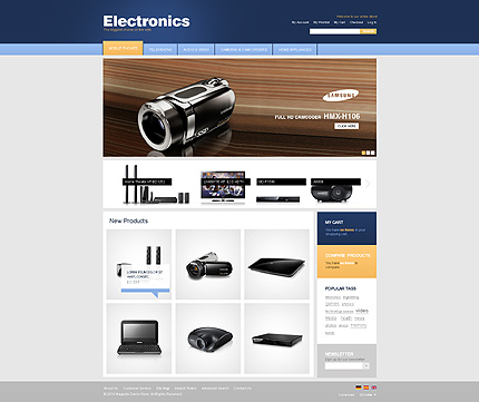 Electronics store - Intriguing Electronic Store Magento Theme